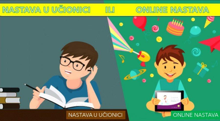 ANKETA: Online nastava ili nastava u učionici